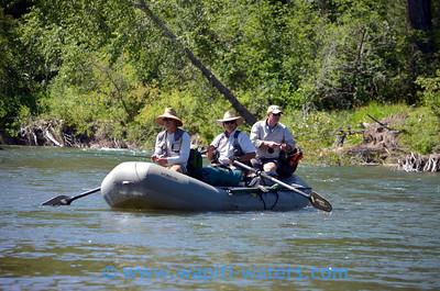 Blackfoot River camping trip 8-2013