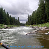 Blackfoot River on a beautiful day in August