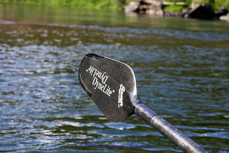 Diamond shaped oar blade - nice!