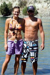 Jessa and Brandon