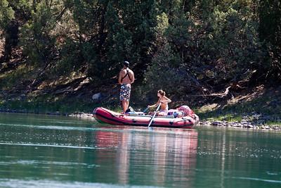 Jessa rowing for Brandon.