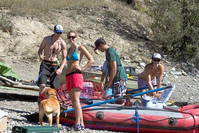 2010 Flathead River trip - day one