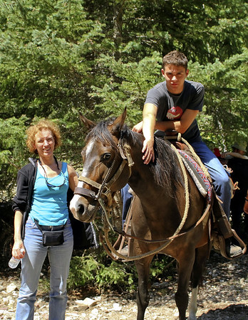 2011 South Fork of the Flathead River, Bob Marshall Wilderness, Album 2: riding the trail
