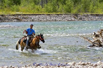2011 South Fork of the Flathead River, Bob Marshall Wilderness, Ciaran O'Neill - wrangler extraordinaire