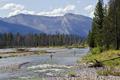 "2011 South Fork of the Flathead River, Bob Marshall Wilderness, ""Camp 6"" near Woodfir Creek"