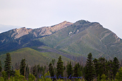 Couldn't resist on last shot of Sleeping Giant from camp.