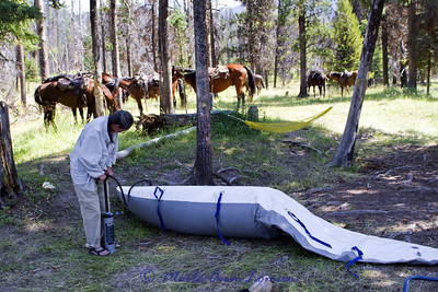 2011 South Fork of the Flathead, Bob Marshall Wilderness, launch at Big Prairie