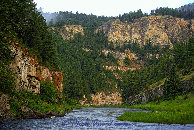 Montana, Smith River in July - Image 0132