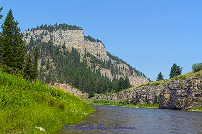 Montana, Smith River in July - Image 6299