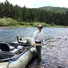 Tom on the Blackfoot River