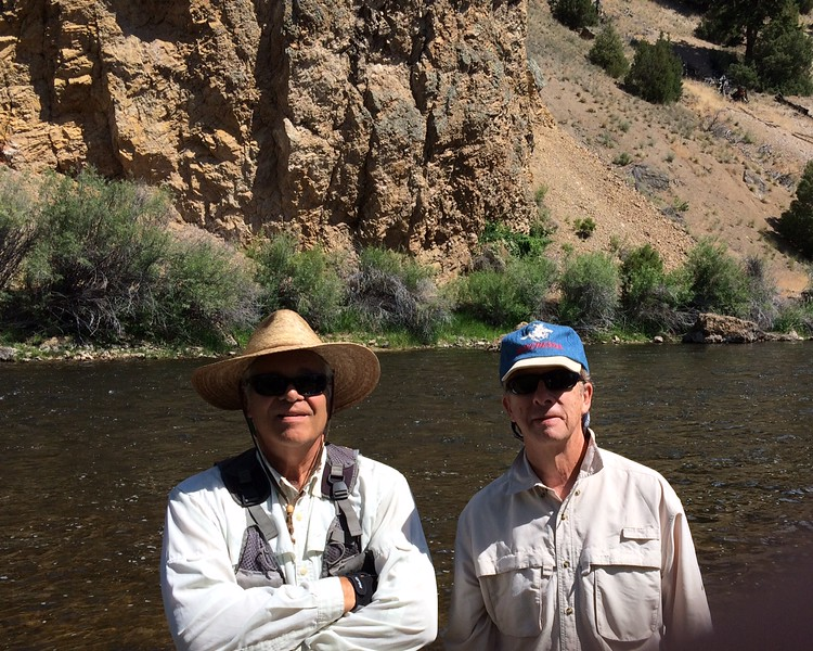 Big Hole River, Jack and Tom