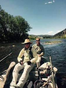 Big Hole River - Jack guiding Tom