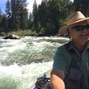Jack guiding on the Blackfoot River