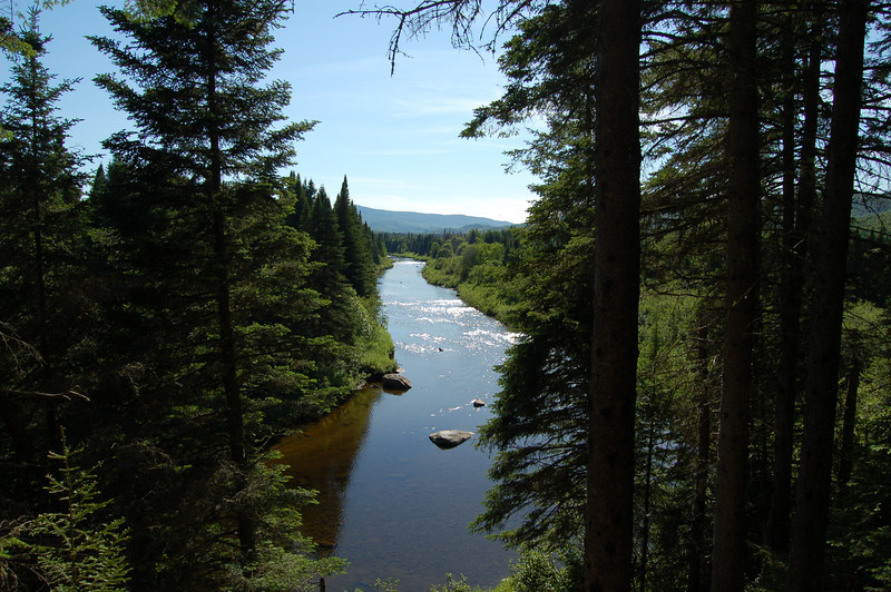 View From Sam's Lookout, Swift Diamond River, Coos County, NH