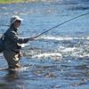 Ed Practicing Tenkara Fishing