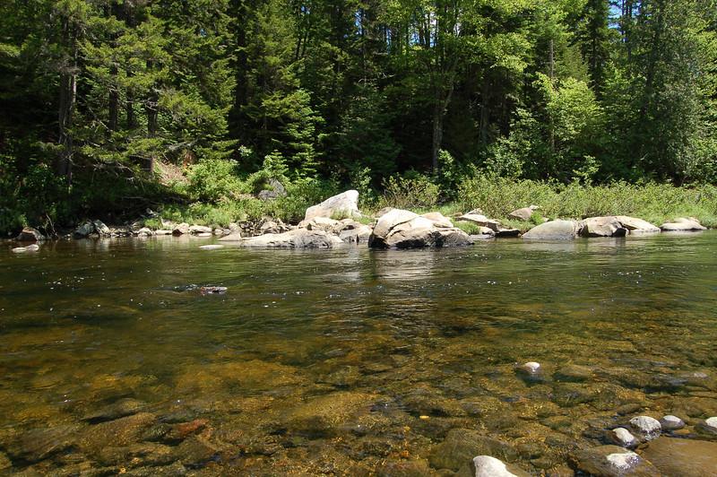 Doug's Rock, Swift Diamond River, Coos County, New Hampshire