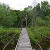 Footbridge over the Dead Diamond River