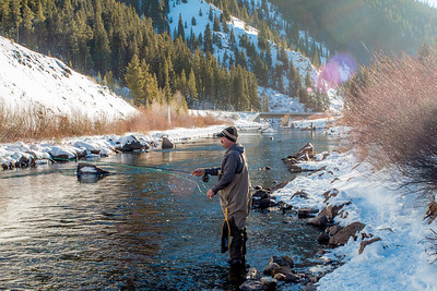 Fly Fishing Taylor River in Gunnison Colorado
