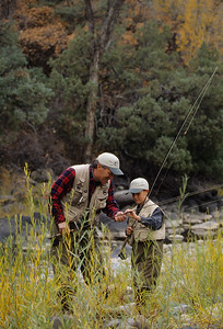 Father & Son, Fishing-124