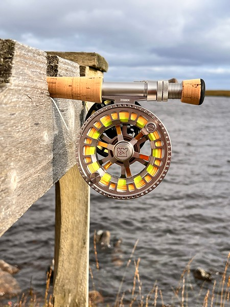 The fly reel