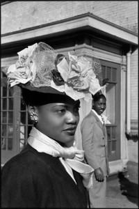 USA. NYC. Harlem. 1947. Easter Sunday.