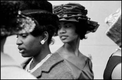 USA. New York City. 1963. Harlem.