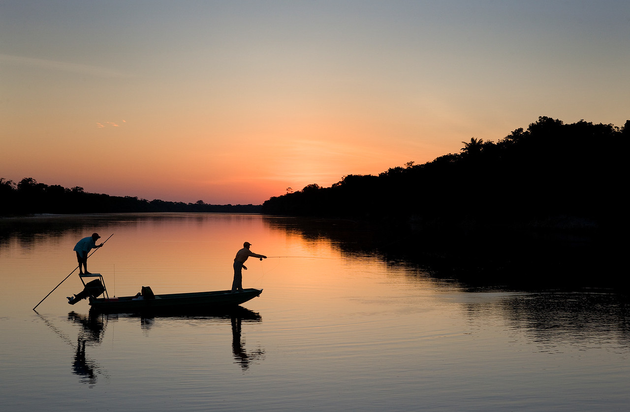 Rio Agua Boa, Brazil