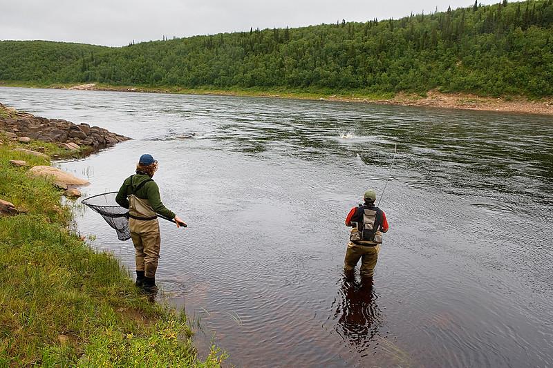 Ponoi River, Russia