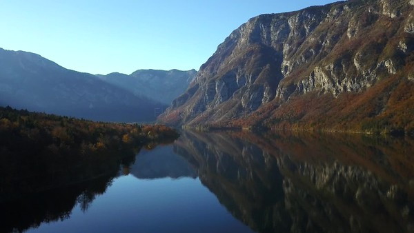 Fly fishing Slovenia in autumn