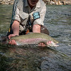Bill Rogers with a very big Slovenien rainbow