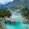 River Soca gorge ~ Slovenia