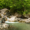 Fishing Tenkara in a beautiful Slovenia alpine stream