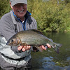 Lewis captures the essence of his huge grayling..