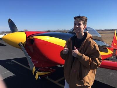 Tater Reeves (Chris Pratt photo....Tate rode in Chris' back seat)