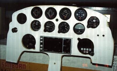 My test instrument panel.