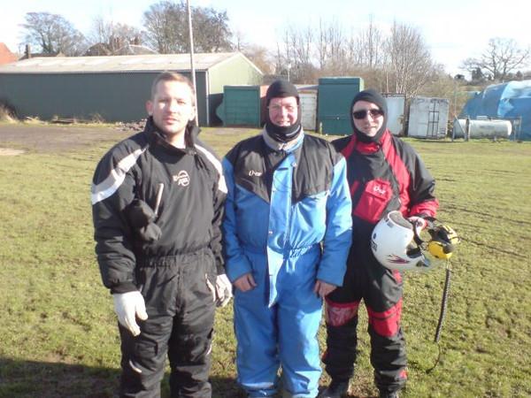 Alex Craven, Me and Richard Fitzgerald