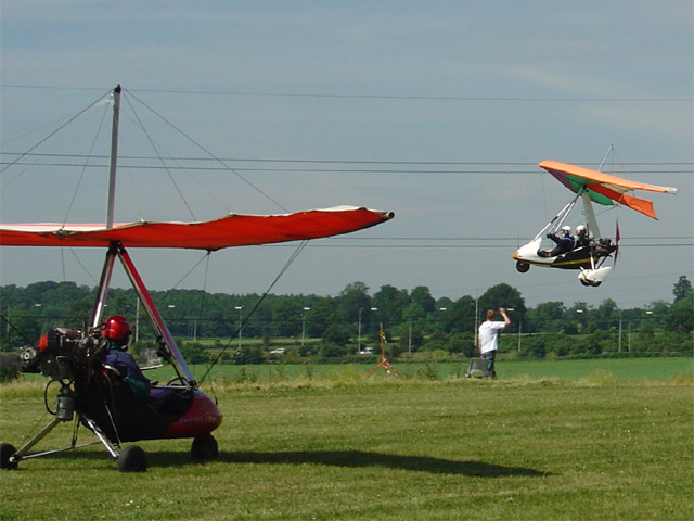 Mat taking off