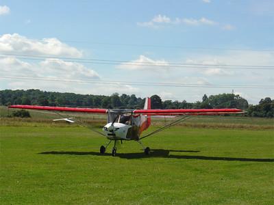 Skyranger G-NOTS landed