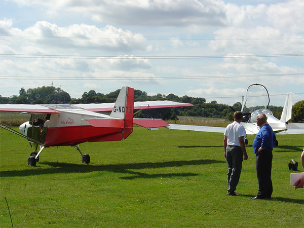 A chat before take-off