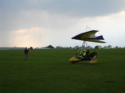 Jeremy lands at Sywell