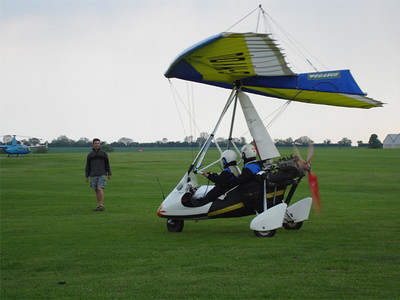 Matt and Seth arrive at Sywell
