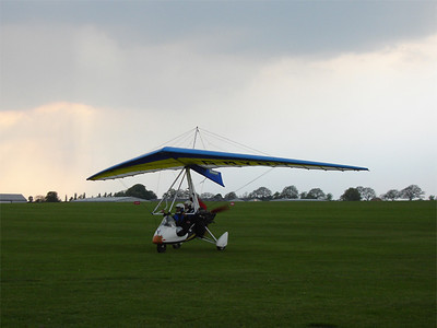 G-MYOU lands at Sywell