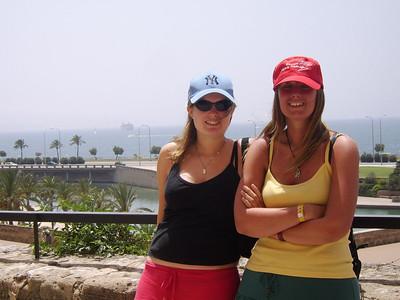 Tina & Natalie in Palma May 2007