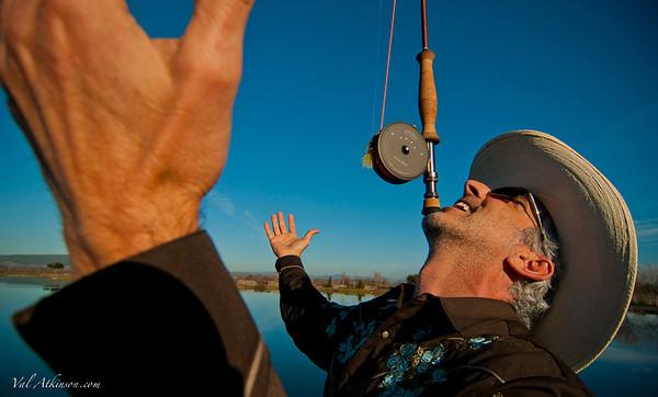 testing the balance of a Lelands sonoma rod #1
