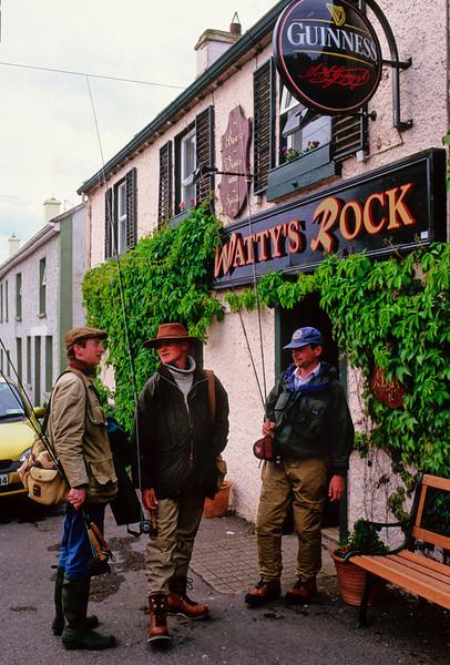 Beers at Watty's Pub