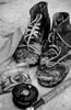 old wading boots