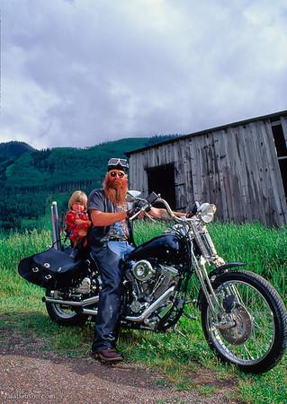 biker bob and his daughter go fishing