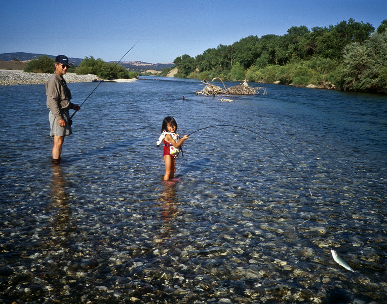 Scott and Sarah, Yuba River