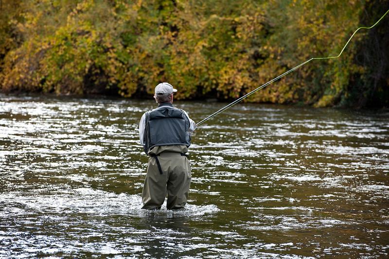 Klamath River in the fall