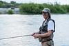 Mike fishing the Yuba